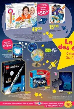 Promos de Jeux LEGO dans le prospectus de Toys R Us à Paris