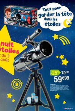 Promos de Télescope dans le prospectus de Toys R Us à Paris