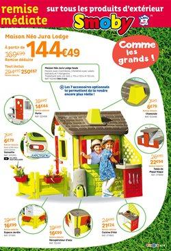 Promos de Smoby dans le prospectus de Toys R Us à Paris