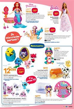 Promos de Barbie dans le prospectus de Toys R Us à Paris