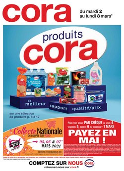 Cora coupon ( Expire demain )