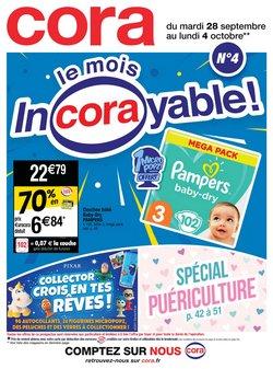 Promos de Cora dans le prospectus à Cora ( Publié hier)