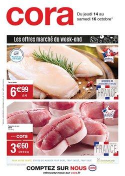 Promos de Hyper-Supermarchés dans le prospectus à Cora ( Expire demain)