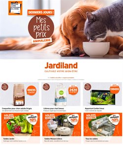 Promos de Jardineries et Animaleries dans le prospectus à Jardiland ( 3 jours de plus )