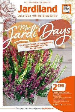 Promos de Jardineries et Animaleries dans le prospectus à Jardiland ( 6 jours de plus)