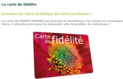 Promos de Jardinage et Animaleries dans le prospectus de Baobab à Salon-de-Provence