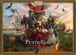 Promos de Puy du Fou dans le prospectus à Puy du Fou ( Plus d'un mois)