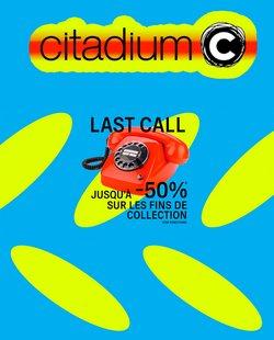 Promos de Citadium dans le prospectus à Citadium ( 21 jours de plus)