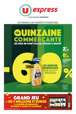 U Express coupon ( Il y a 3 jours )