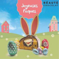 Promos de Pâques dans le prospectus à Reauté Chocolat ( 8 jours de plus)