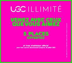Promos de Culture et Loisirs dans le prospectus à UGC ( Expire ce jour)