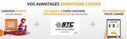 Promos de Sportfood Center dans le prospectus à Paris
