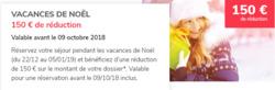 Promos de Cap'vacances dans le prospectus à Paris