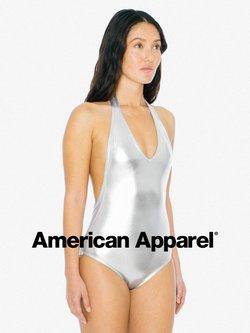Promos de American Apparel dans le prospectus à American Apparel ( Plus d'un mois)