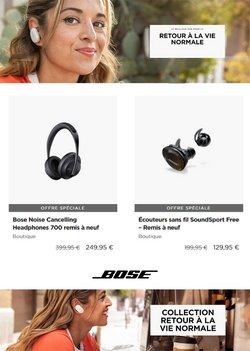Promos de Bose dans le prospectus à Bose ( 7 jours de plus)
