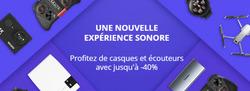 Promos de Ali Express dans le prospectus à Paris