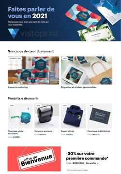 VistaPrint coupon ( 14 jours de plus )
