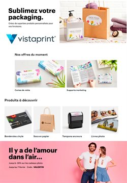 VistaPrint coupon ( 8 jours de plus )