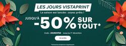 VistaPrint coupon à Nice ( 3 jours de plus )