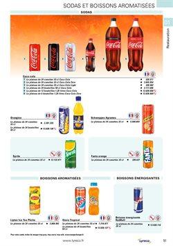 Coca-cola à Lyreco