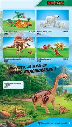 Dinosaures à Playmobil