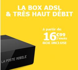 Promos de La Poste Mobile dans le prospectus à Paris