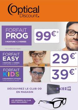 Promos de Santé et Opticiens dans le prospectus à Optical Discount ( 9 jours de plus)