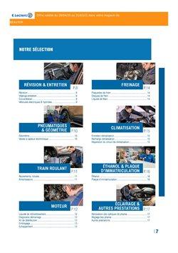 Promos de Voitures, Motos et Accessoires dans le prospectus à E.Leclerc L'Auto ( Plus d'un mois )