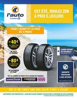 E.Leclerc L'Auto coupon ( Publié hier)