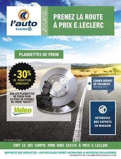 E.Leclerc L'Auto coupon ( 8 jours de plus)