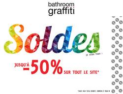 Promos de Bathroom Graffiti dans le prospectus à Paris
