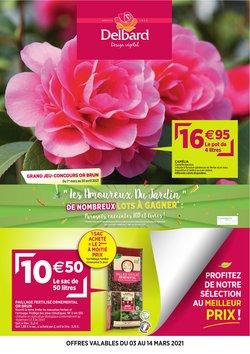 Promos de Jardineries et Animaleries dans le prospectus de Delbard à Lyon ( 8 jours de plus )