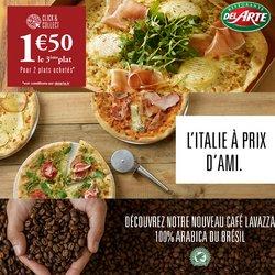 Pizza Del Arte coupon ( 7 jours de plus)