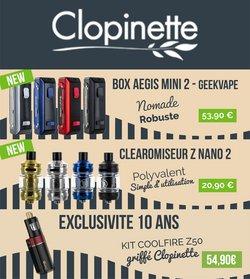 Promos de Clopinette dans le prospectus à Clopinette ( Publié hier)