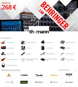 Thomann coupon ( Expire demain )