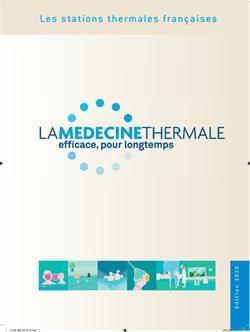 Promos de Opticiens et Santé dans le prospectus de La Médecine Thermale à Montpellier ( Plus d'un mois )