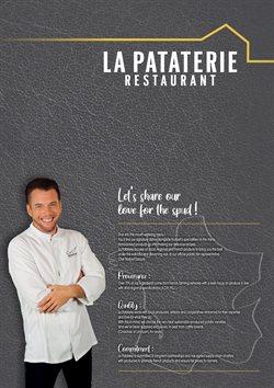 Promos de Restaurants dans le prospectus de La Pataterie à Lyon ( 2 jours de plus )