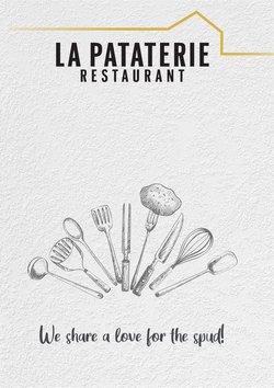 Promos de Restaurants dans le prospectus à La Pataterie ( 25 jours de plus)
