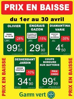 Gamm vert coupon ( 18 jours de plus )