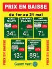 Gamm vert coupon ( 16 jours de plus )