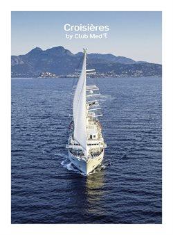 Promos de Voyages dans le prospectus de Club Med à Lyon ( Plus d'un mois )