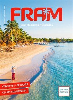Promos de Voyages dans le prospectus de Fram à Nice ( Plus d'un mois )