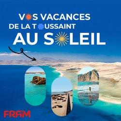 Promos de Voyages dans le prospectus à Fram ( Nouveau)