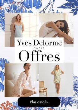Promos de Yves Delorme dans le prospectus à Yves Delorme ( 30 jours de plus)