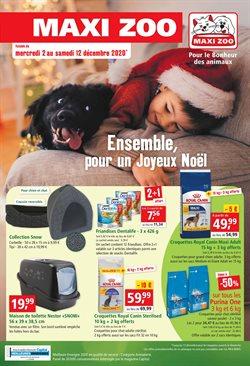 Promos de Jardineries et Animaleries dans le prospectus de Maxi Zoo à Paris ( Publié hier )