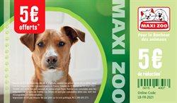 Promos de Jardineries et Animaleries dans le prospectus à Maxi Zoo ( 4 jours de plus )