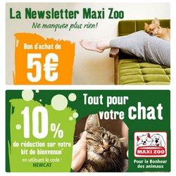 Maxi Zoo coupon ( Publié hier)