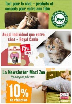 Maxi Zoo coupon ( Expire demain)