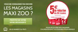 Promos de Maxi Zoo dans le prospectus à Marseille