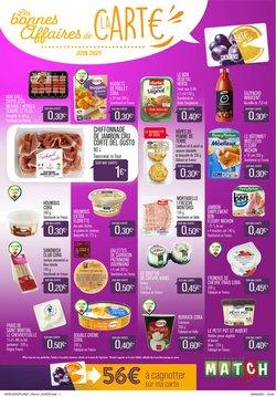 Promos de Hyper-Supermarchés dans le prospectus à Match ( 9 jours de plus)